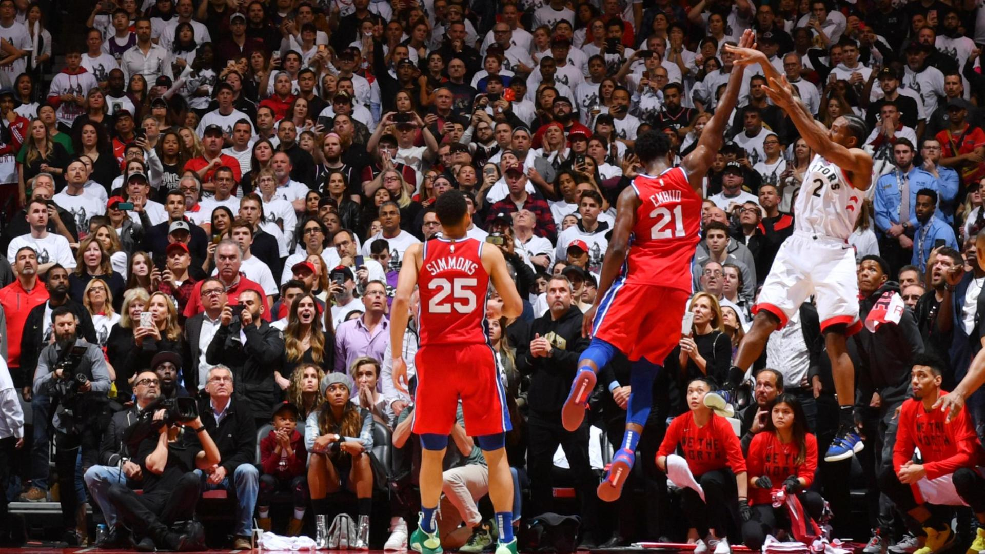 Kawhi's buzzer-beater wins Game 7