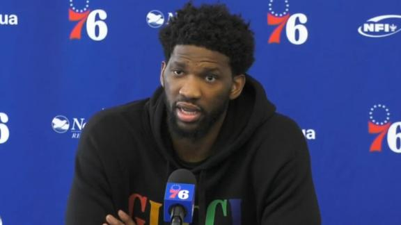 Embiid adamant Brett Brown remains head coach for Sixers