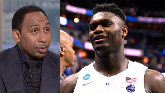 Stephen A.: Zion would fit right in with LeBron, Lakers