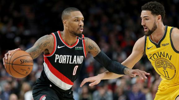 It's been Dame Time vs. Warriors this season