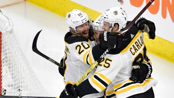 Wagner, Marchand light lamp as Bruins take commanding 3-0 lead
