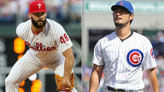 Ross: Arrieta and Darvish going in opposite directions