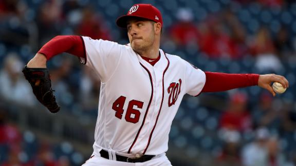 Corbin deals 11 strikeouts in win for Nationals