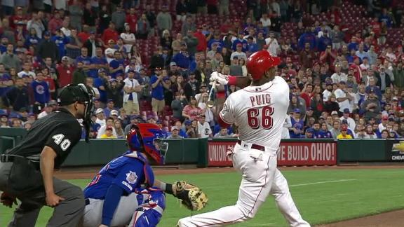 Puig hits a walk-off homer in 10th