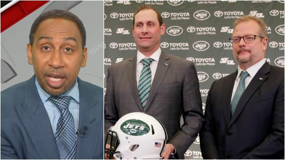 Stephen A. on Jets: 'You just can't make this up'