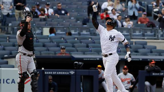 Yankees hit four home runs in win over Orioles