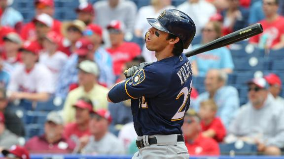Yelich yanks 2 HRs to boost Brewers to win