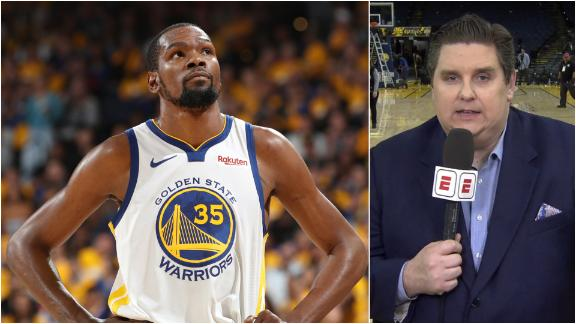 Windhorst: Durant won't be back unless Warriors trail