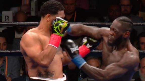Wilder KO's Breazeale in the 1st