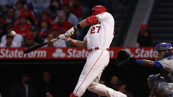 Trout sends 250th career HR 473 feet