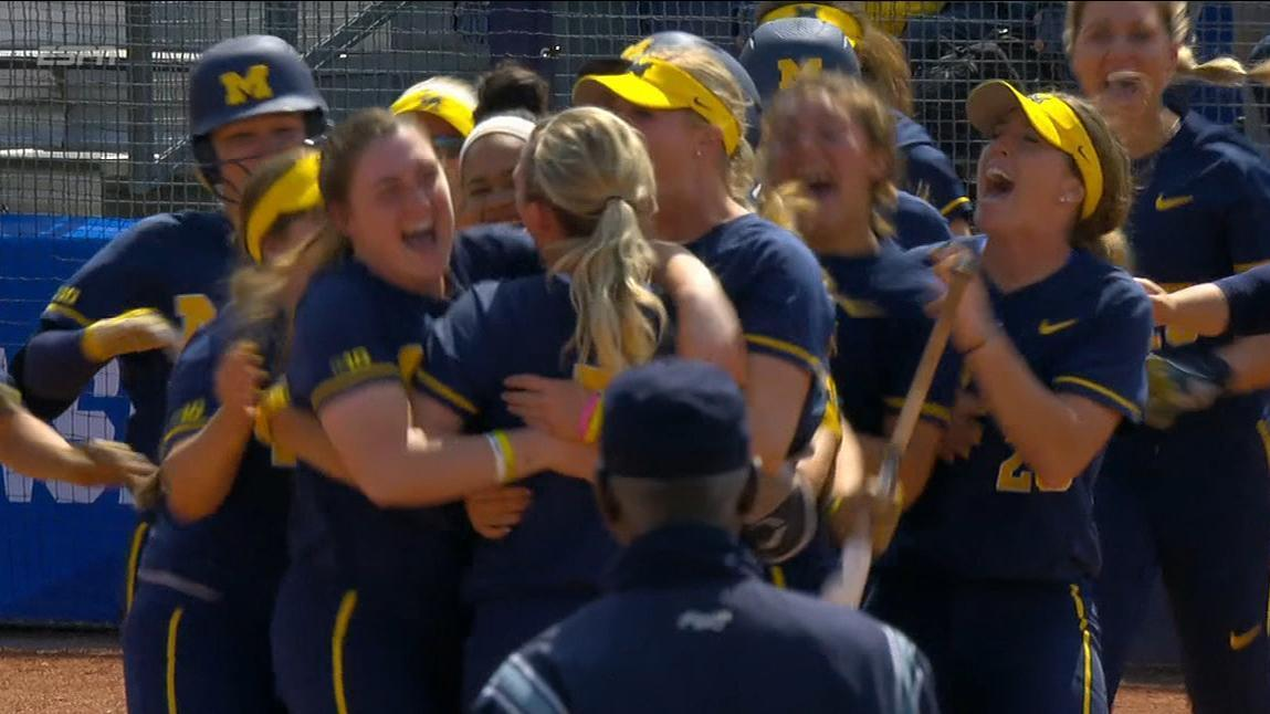 Michigan walks off in 12 innings