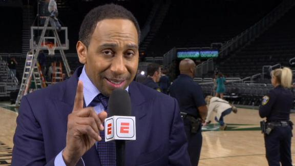 Stephen A.: Warriors can't beat Bucks without Durant