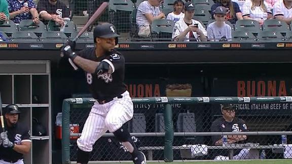 Garcia cranks leadoff homer for White Sox
