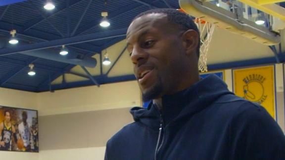 Iguodala gets philosophical: 'My happiness is in sadness'
