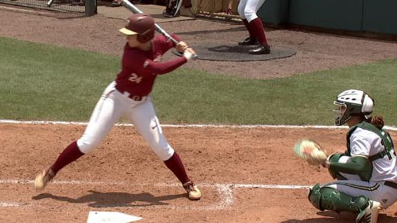 Florida State hits four straight homers
