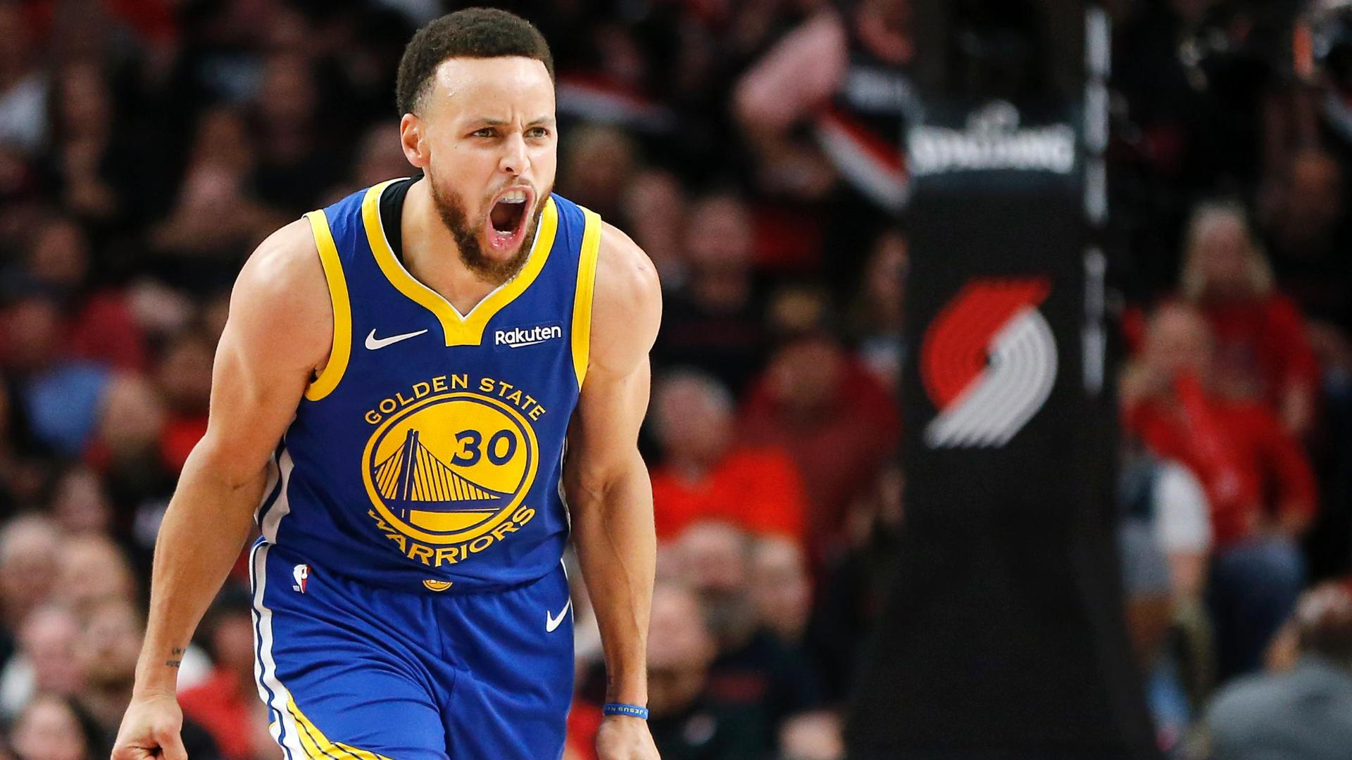 0a716a0505ea Warriors take commanding 3-0 lead behind Curry s 36