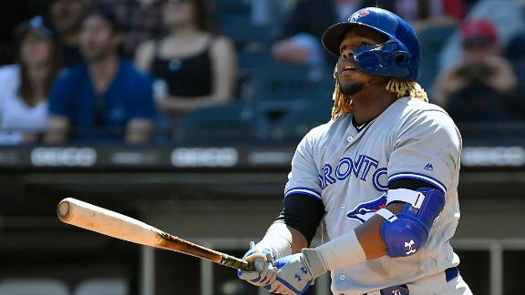 Vlad Jr. connects on 4th career HR