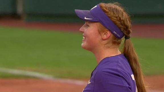 Plain's no-hitter sends Washington to super regionals