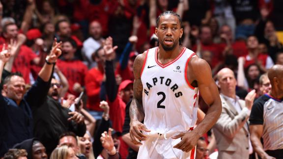Raptors ride Kawhi's clutch performance to win 2OT thriller