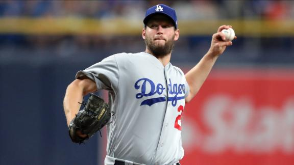 Kershaw fans 8 in Dodgers' win