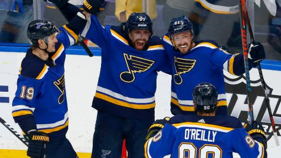 Tarasenko, Blues advance to 1st Stanley Cup since 1970