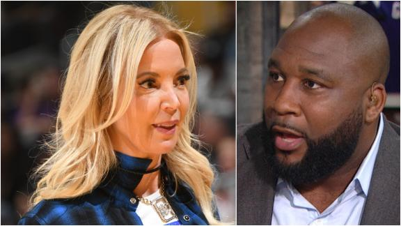 Spears: Jeanie Buss is the problem with the Lakers