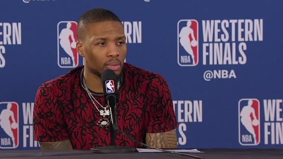 Lillard looks back at the Blazers' season