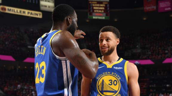 Steph, Draymond record triple-doubles in Game 4