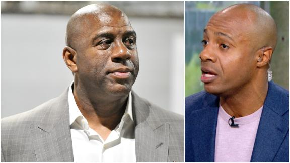 Williams: Magic only helped himself with comments
