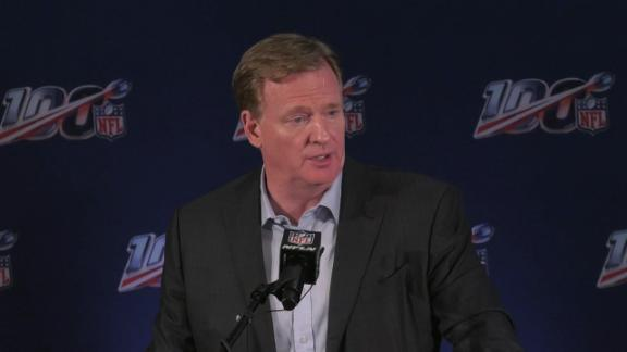 Goodell on the possibility of medical marijuana use in the NFL
