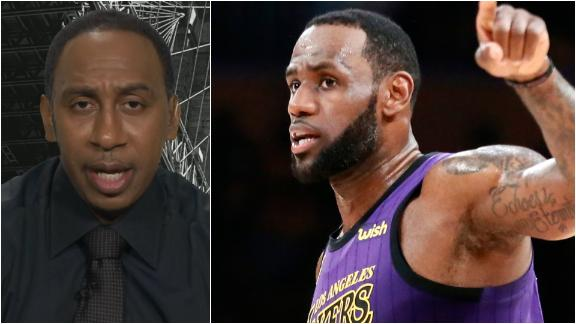 Stephen A.: LeBron's best shot at another title is with Lakers