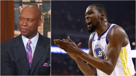 Scott 'not worried' about KD missing start of NBA Finals