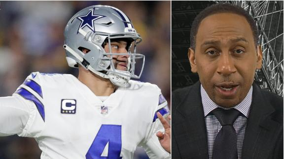 Stephen A.: Dak deserves to be paid