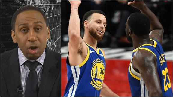 Stephen A. doesn't see anyone beating Warriors