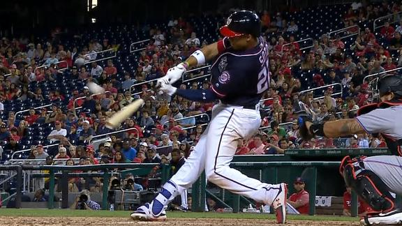 Nats take lead on Soto's 3-run dinger