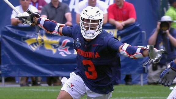 Laviano's 2OT goal sends Virginia to the championship