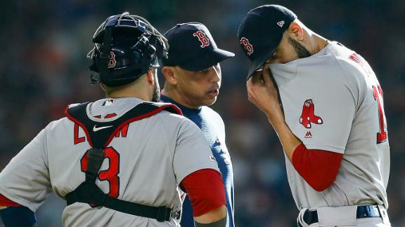 Price leaves game with flu-like symptoms in 1st inning