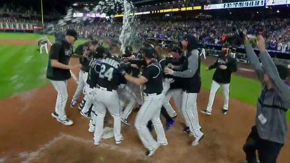Story's second HR of the game is a walk-off