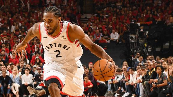 Raptors oust Bucks, reach 1st ever NBA Finals