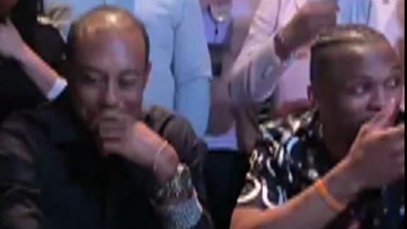 Russ beats Tiger in poker hand