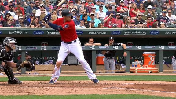 Cron drives in four in first two at-bats