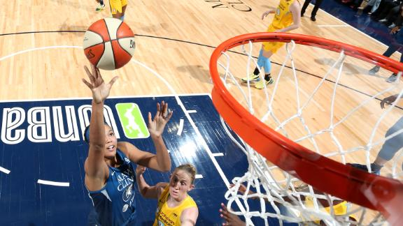 Collier leads Lynx with 27 points in WNBA debut