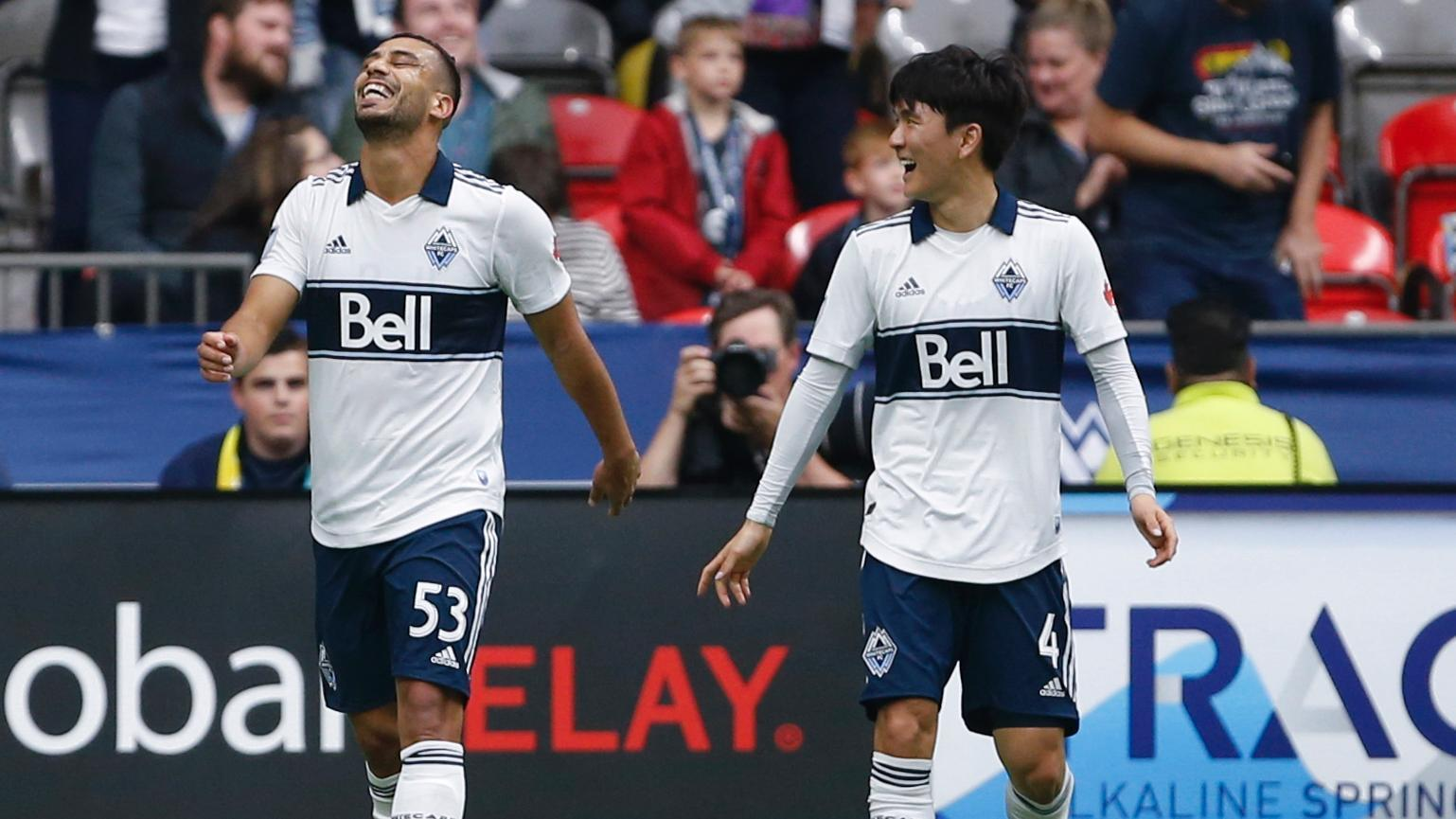 Adnan splits 2 defenders, puts Whitecaps in front