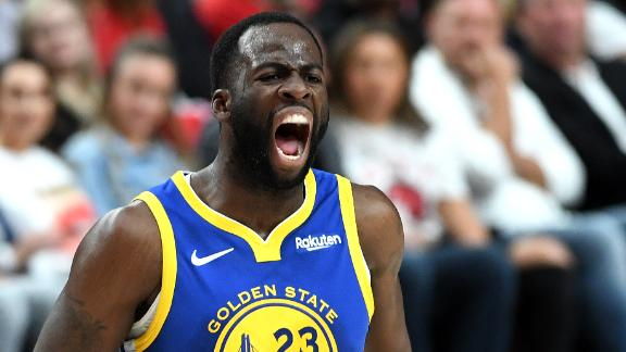 The Warriors are getting peak Draymond Green