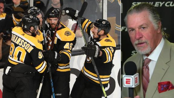 Melrose: Bruins battled through rust to take Game 1