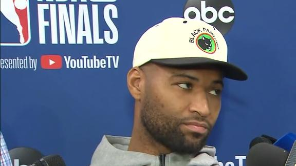Cousins: 'I feel good' prior to Game 1