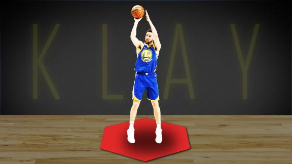 Don't let Klay Thompson shoot from the right side