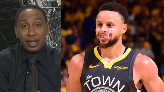 Stephen A.: Curry worthy of being in world's best player conversation
