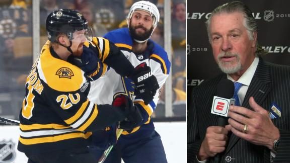 Melrose: Physicality will take a toll on Blues, Bruins