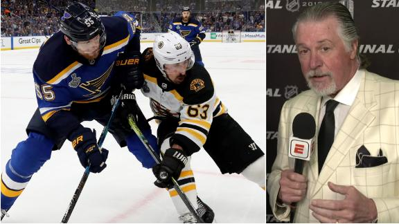 Melrose: Refs let the Bruins and Blues play in Game 4